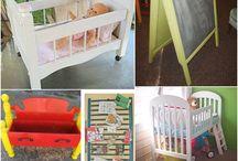 Repurposing kids furniture