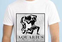 Zodiac Signs Men T-shirts