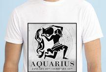 Zodiac Signs Men T-shirts