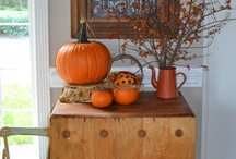 Fall decos / by Hannah Pershall Hantho