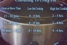 Food: Slow Cooker / Slow cooker or crockpot recipes.