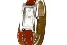 Montres femme double bracelet en cuir / Des montres femme comme on les aime! Chics et pas chères ;-)