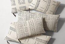 Handwooven pillows