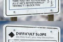 Indicazioni piste da sci