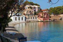 Greek Ionian Sea Islands