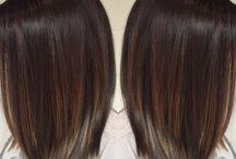 Mörka frisyrer