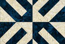 Rectangle quilt block
