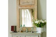 DIY Miroir trumeau