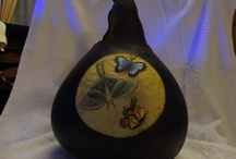 Gourd art/and ideas / by Michelle Weidner