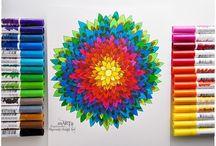 Doodling / Zentagle / Mandala