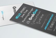 Business Card Design / Bespoke Business Cards Designed By White Rabbit Graphic Design - Auckland, New Zealand