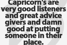 My sign / Capricorn
