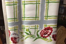 Vintage Tablecloths and Linens