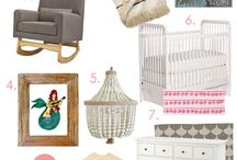 Baby Nursery / baby nursery design, girl nursery ideas, boy nursery ideas, nursery decorating, nursery furniture,