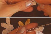 Crochet animal figures