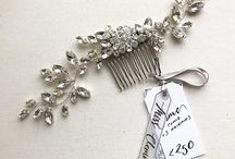 Wedding Hair Combs by Miss Clemmie