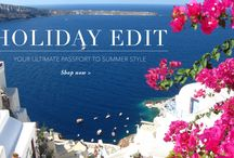 Holiday Inspiration / Your ultimate passport to summer style www.designer-24.com
