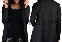 Cardigan donna spolverino giacchetto sportivo felpa maxi maglia giacca sexy Mcr2