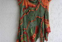Freeform crochet&knitting