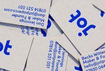 business cards branding