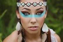 maquilhagem de indios