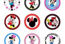 Minnie e Margarida Disney