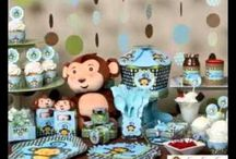 baby shower monkey themes