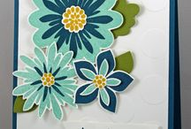 Stampin Up: Flower Patch / Cards created with Stampin' Up! Flower Patch stamp set. SU