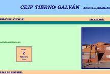 Página web / Página web del centro