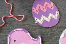 Výtvarka - Velikonoce / Výtvarné nápady