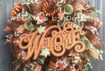 Mesh wreath!! / by Maritza Valadez