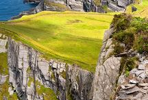 Ireland, Scotland & England