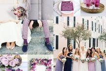 wedding color/purple