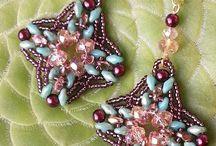 Kolczyki z koralikami