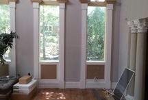 Interior Trim Work / Pics of WindsorONE S4SSE Trim Boards being used for interior window & door casings.