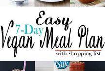 vegan meal plan!!