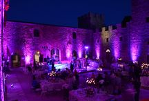 Wedding lighting for special events in tuscany / Wedding lighting service in tuscany