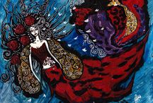 Silvena Naive Art Paintings