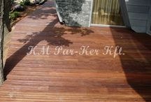 Outdoor wood flooring / Spring is here, waiting for the terrace. Wood decking, custom solutions.
