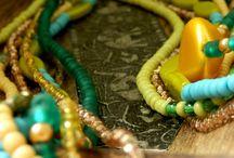 nefelibata: Boho Chic Necklaces / My handmade boho chic jewelry. Available at Etsy. com or dawanda.com