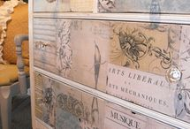 Decoupage and Painting projects / by Pam Hayes