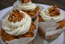 mufinky / Muffinky sladké i slané + zdobení