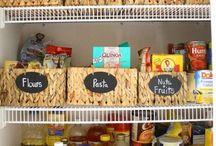 Organizing With Baskets / Home organizing ideas