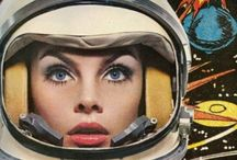 sci-fi / space / comics / illustration / retro / by Gemma Barendse