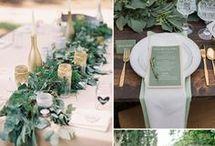 Palette: natural / Natural wedding / Ispirazioni per un matrimonio dai colori naturali/ Natural wedding ideas
