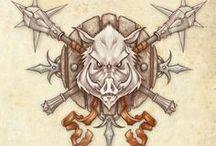boar tattoo.
