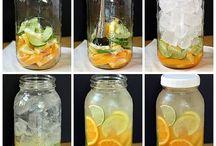 Flavoured water / Water met een smaakje