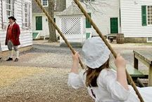 Colonial Crafts, Games and More / Learn all about colonial life with fun activities, games and fun historical facts!
