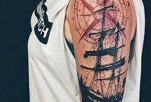 Tatuajes mangas