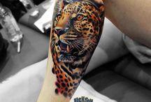 tigre pierna
